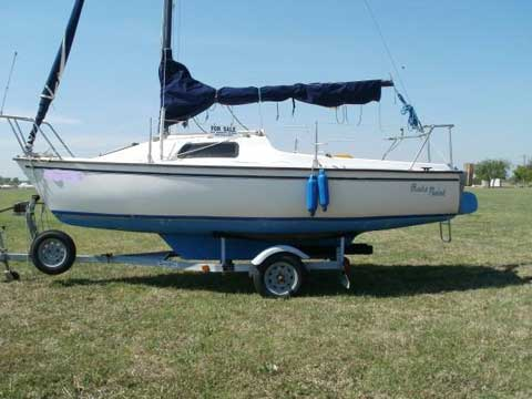 Precision 18, 1986 sailboat