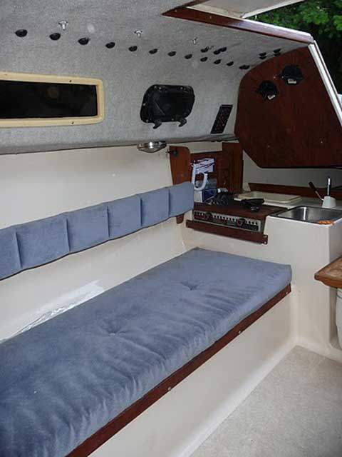 Precision 23, 1994 sailboat