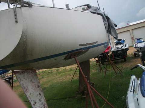 Ranger 26, late 70s sailboat