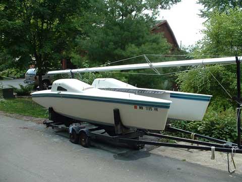 Reynolds 21' Catamaran, 1979 sailboat