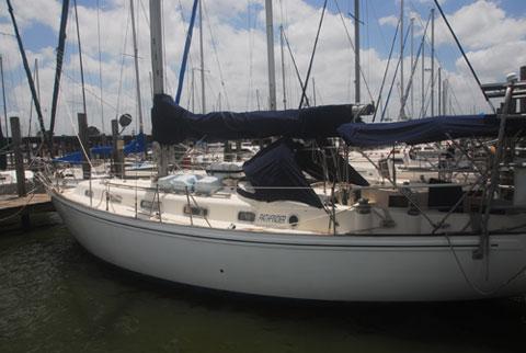 Rival 38A sailboat