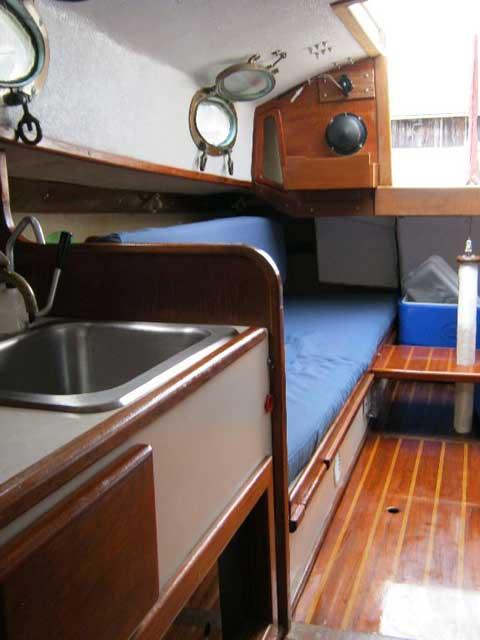 Rob Roy 23 yawl, 1986 sailboat