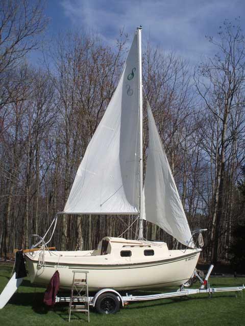 Sanibel 17/18, 1986 sailboat