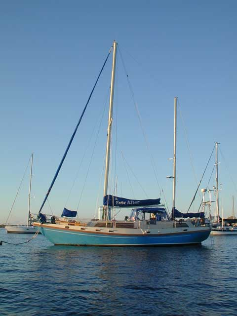 Schucker 444, Cutter Rigged Ketch, 1976 sailboat