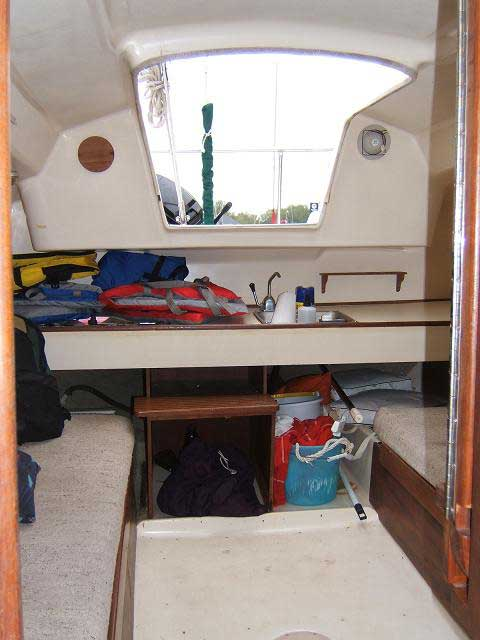 Seafarer 23, 1984 sailboat