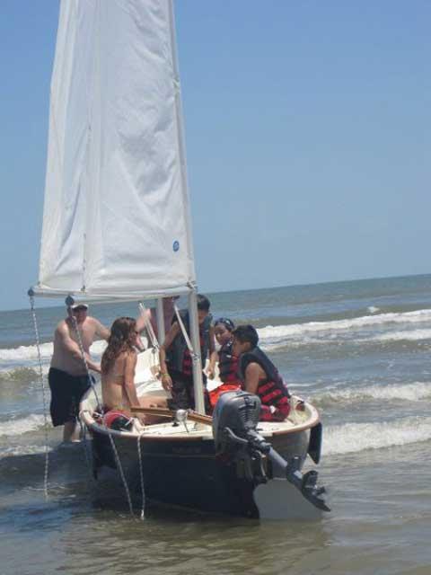 Sea Pearl 21, 2008 sailboat