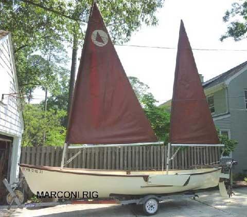 Sea Pearl 21, 1982 sailboat