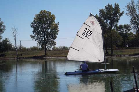 Sears sailboat, late sixties sailboat