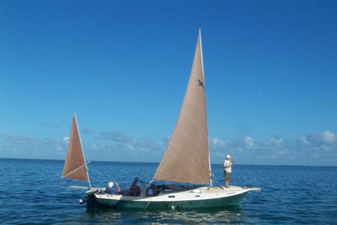 Edey and Duff Shearwater cat yawl, 1996 sailboat