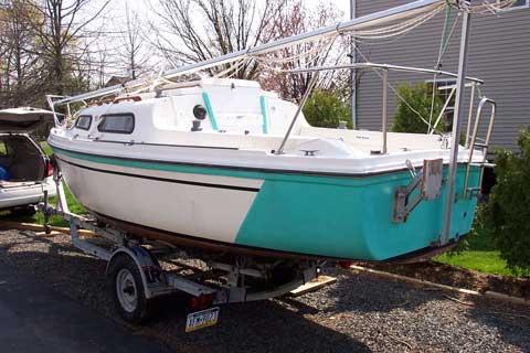 Sirius 21 1984 Doylestown Pennsylvania Sailboat For
