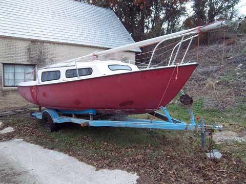 South Coast 22', 1974 sailboat
