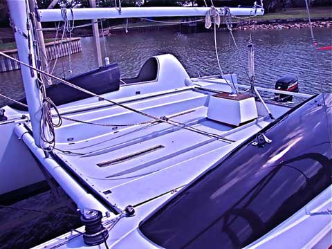 Stiletto 27 catamaran, 1980 sailboat