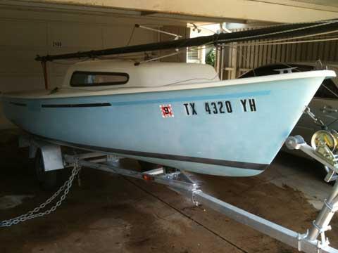 AMF Sunbird 16', 1977 sailboat