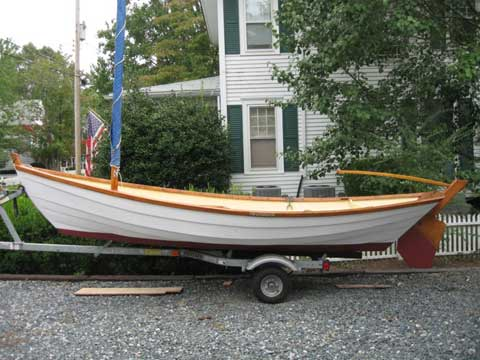 Swampscott Dory, 16', 1979 sailboat