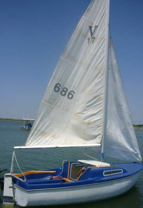 Sailboat Trailer For Sale >> Venture 17, 1972, Arlington, Texas, sailboat for sale from ...