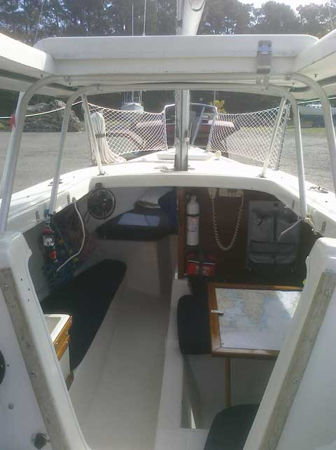 Boat Trailer Wiring >> MacGregor Venture V-222, 1978, Richmond, Virginia, sailboat for sale from Sailing Texas, yacht ...