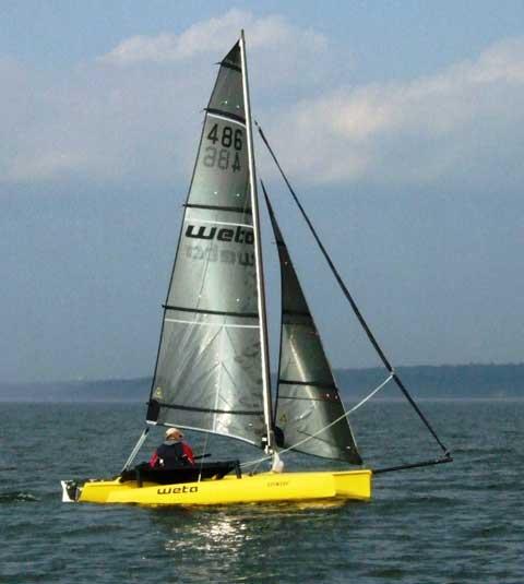 Weta Trimaran, 4.4m, 2010 sailboat