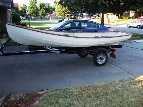 Whitehall 17 2001 sailboat
