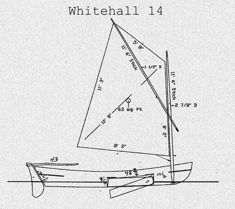 Whitehall 17, 2001, Springdale, Arkansas, sailboat for sale from Sailing Texas