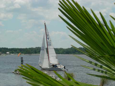 Wilderness 21ft., 1979 sailboat