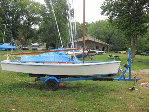 Windmill 15 6 Quot 1968 Bloomington Indiana Sailboat For