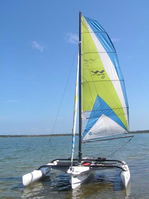 Windrider 17, 2003 sailboat