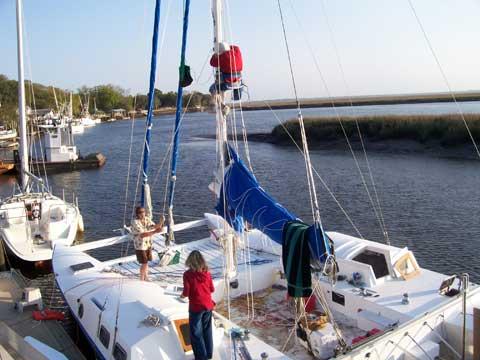 Richard Woods Catamaran, 36 ft., 2003, Tampa, Florida, sailboat for sale from Sailing Texas