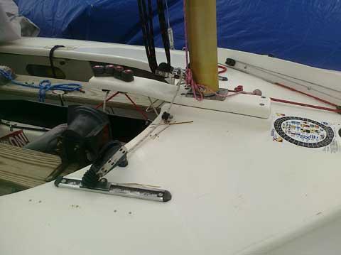 Y-flyer sailboat