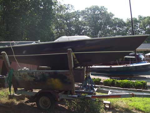 Yngling, 21', 1980 sailboat