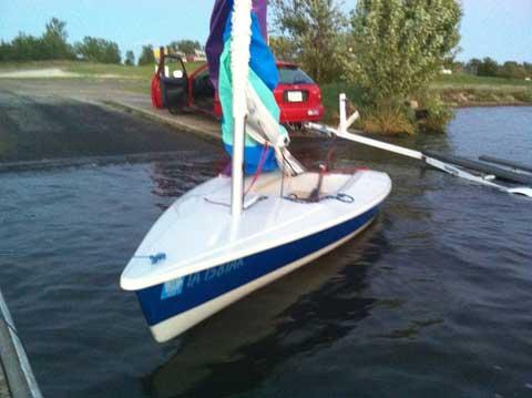 Sunfish/Laser Zuma, 1996 sailboat
