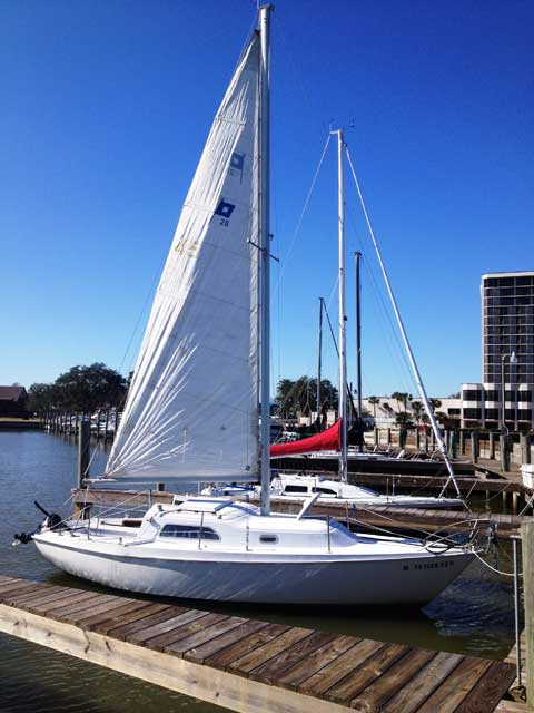 Pearson 26, 1971 sailboat