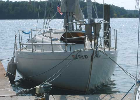 Albin Ballad 30', 1978 sailboat