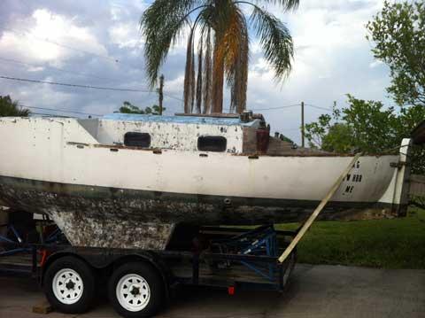 Aleutka 26, 1994 Punta Gorda, Florida sailboat
