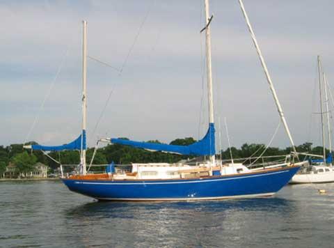 Allied Seabreeze 35 Yawl, Citation Model, 1972 sailboat