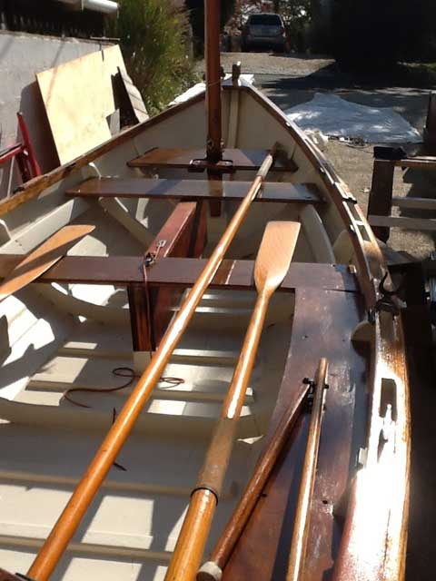 Amesbury, Classic Wooden Sailing Dory, 1986, Southold, New York, Long Island sailboat