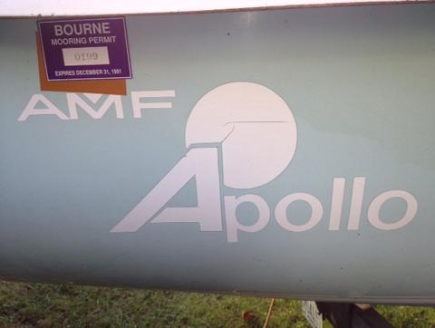 AMF Apollo 16, 1979, Washington, DC sailboat