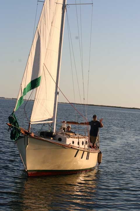 Aquarius Pilot Cutter 24 sailboat