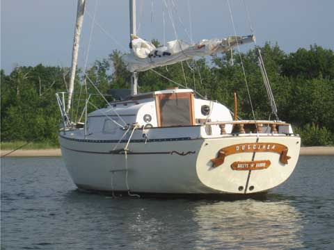 Bayfield 25, 1978 sailboat