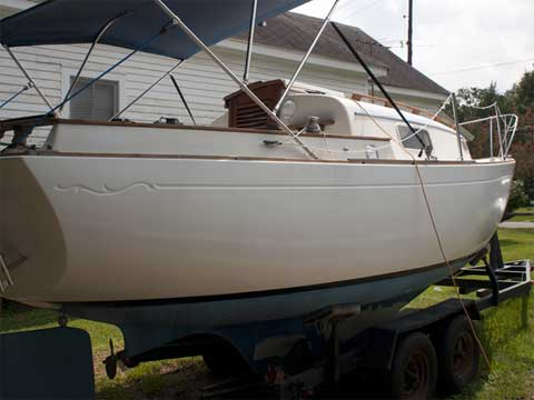 Bayfield 25, 1974 sailboat