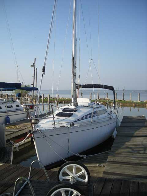 Beneteau First 285, 1987 sailboat