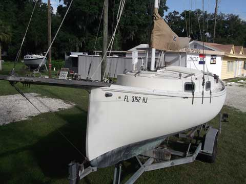 Blackwatch 24' cutter, 1980, Ocala, Florida sailboat