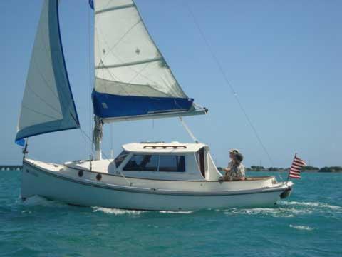 Blue Jacket 23' Motorsailer, 1988, South Florida, sailboat for ...