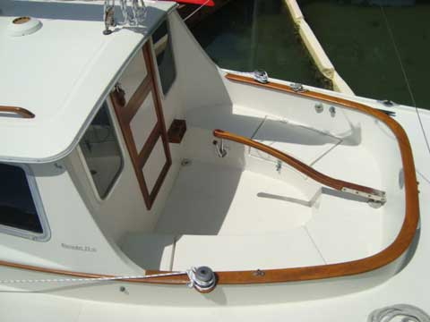 Blue Jacket 23' Motorsailer, 1988 sailboat