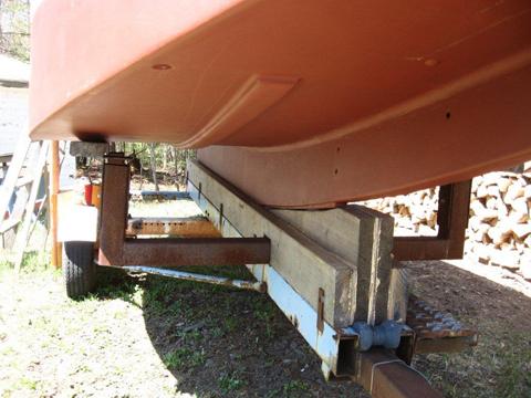 Bolger Micro, 2012, Long Lake, New York sailboat