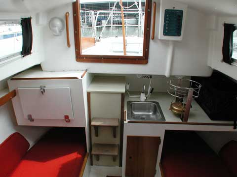 Bristol 27 1969 Lake Lewisville Texas Sailboat For