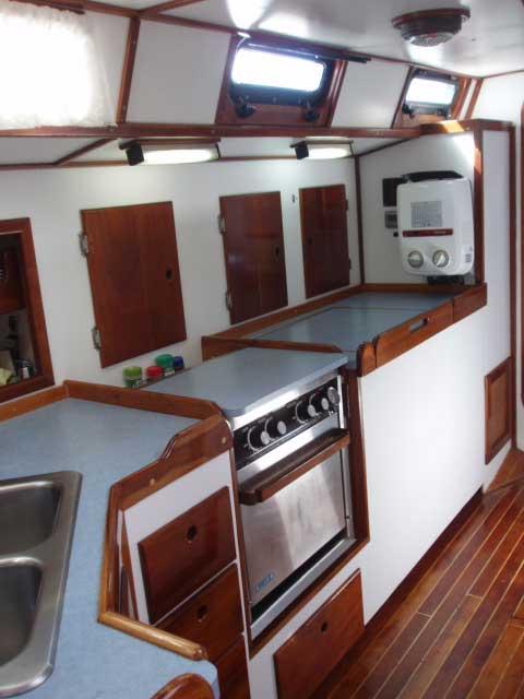 Bruce Roberts 434 Steel Cutter/Sloop, 1990 sailboat
