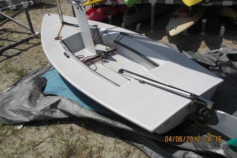 Byte, 12ft, 2006 sailboat