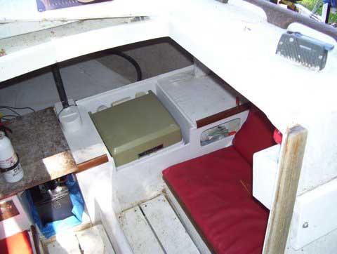 Cal 21 sailboat