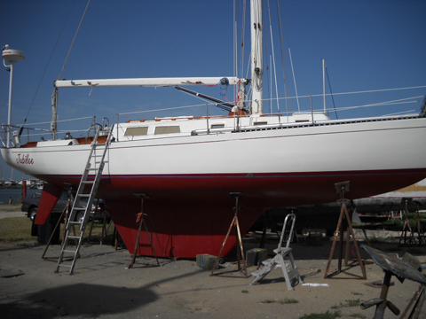 how to set up a 12 foot dinghy for cruising