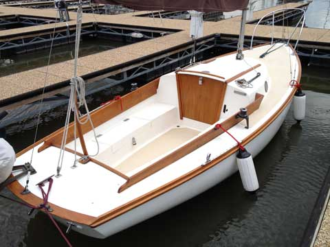 Cape Dory Typhoon Weekender, 1981 sailboat